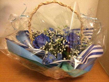 青いバラ2